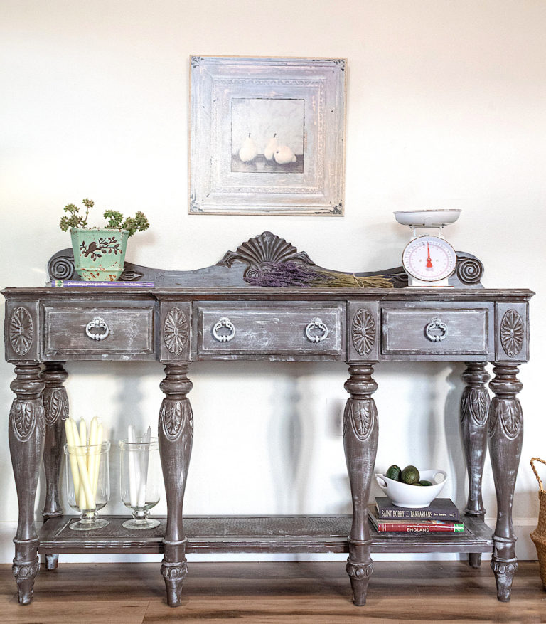 Gorgeous French Vintage Inspired Sideboard or Buffet