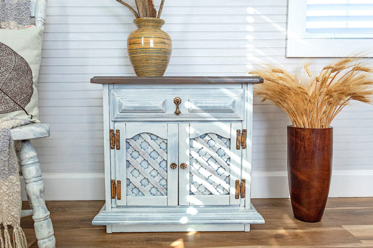 Cottage Style End Table or Night Stand